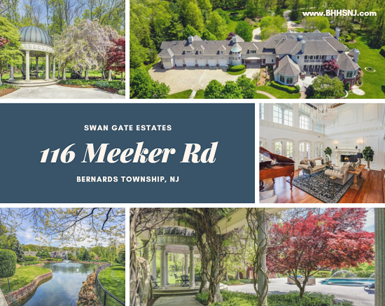 Magnificent doesn't begin to describe how amazing the estate located at 116 Meeker Rd in Bernards Township, NJ really is. You'll have to see it to believe it.
