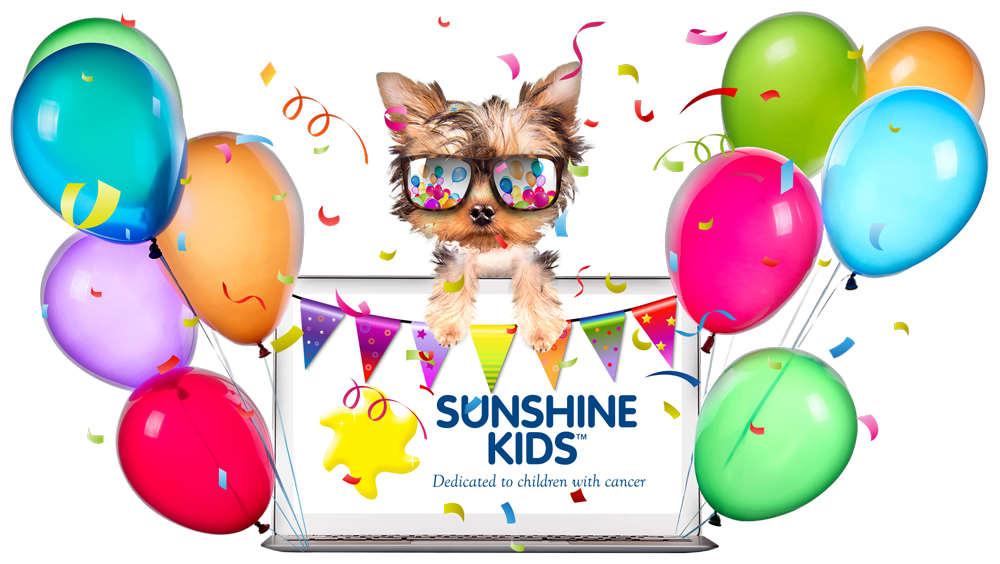 Sunshine Kids Virtual Party Fundraiser